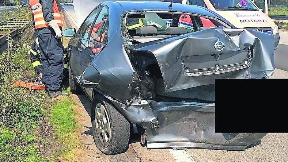 Unfall Auf A57