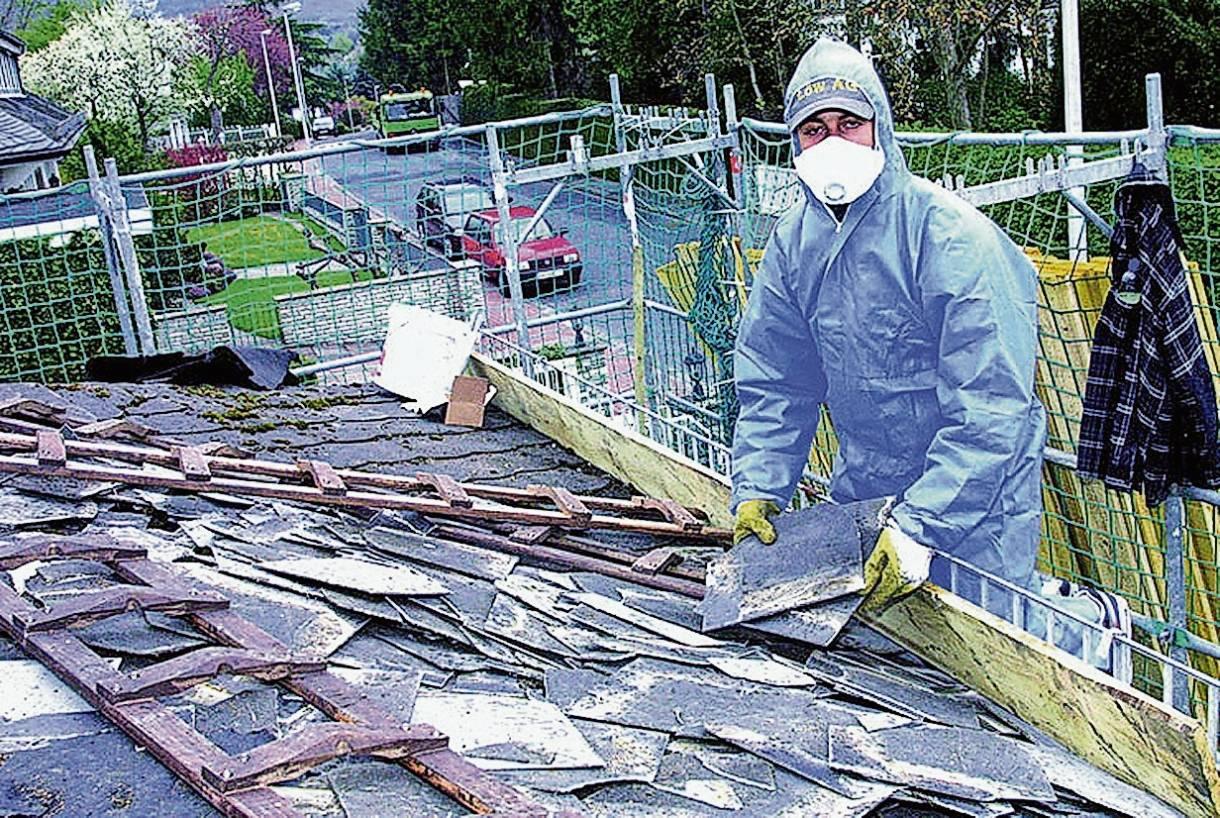 Asbest Auf Dem Dach Was Nun